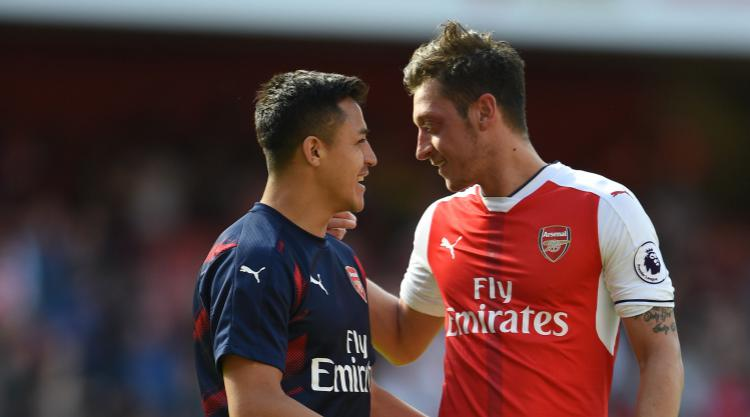 Mesut Ozil says if Alexis Sanchez leaves Arsenal it would 'hit team hard'