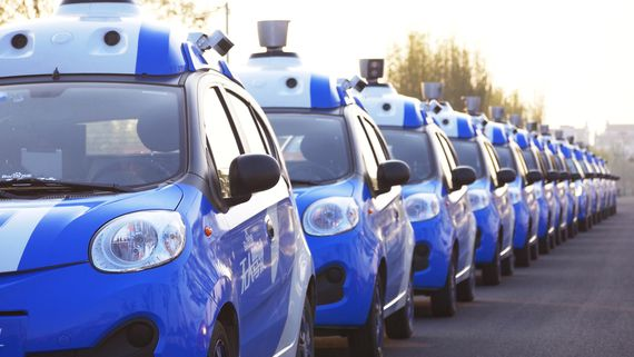 Microsoft helps expand China's self-driving tech with Baidu     – CNET