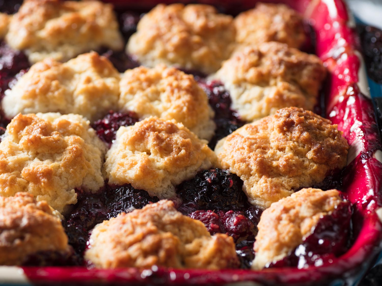 Old-Fashioned Blackberry Cobbler