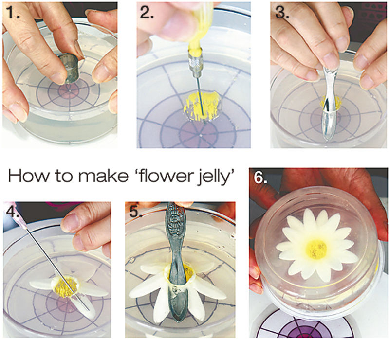 Beautiful 'flower jelly': New type of dessert gains popularity in Japan