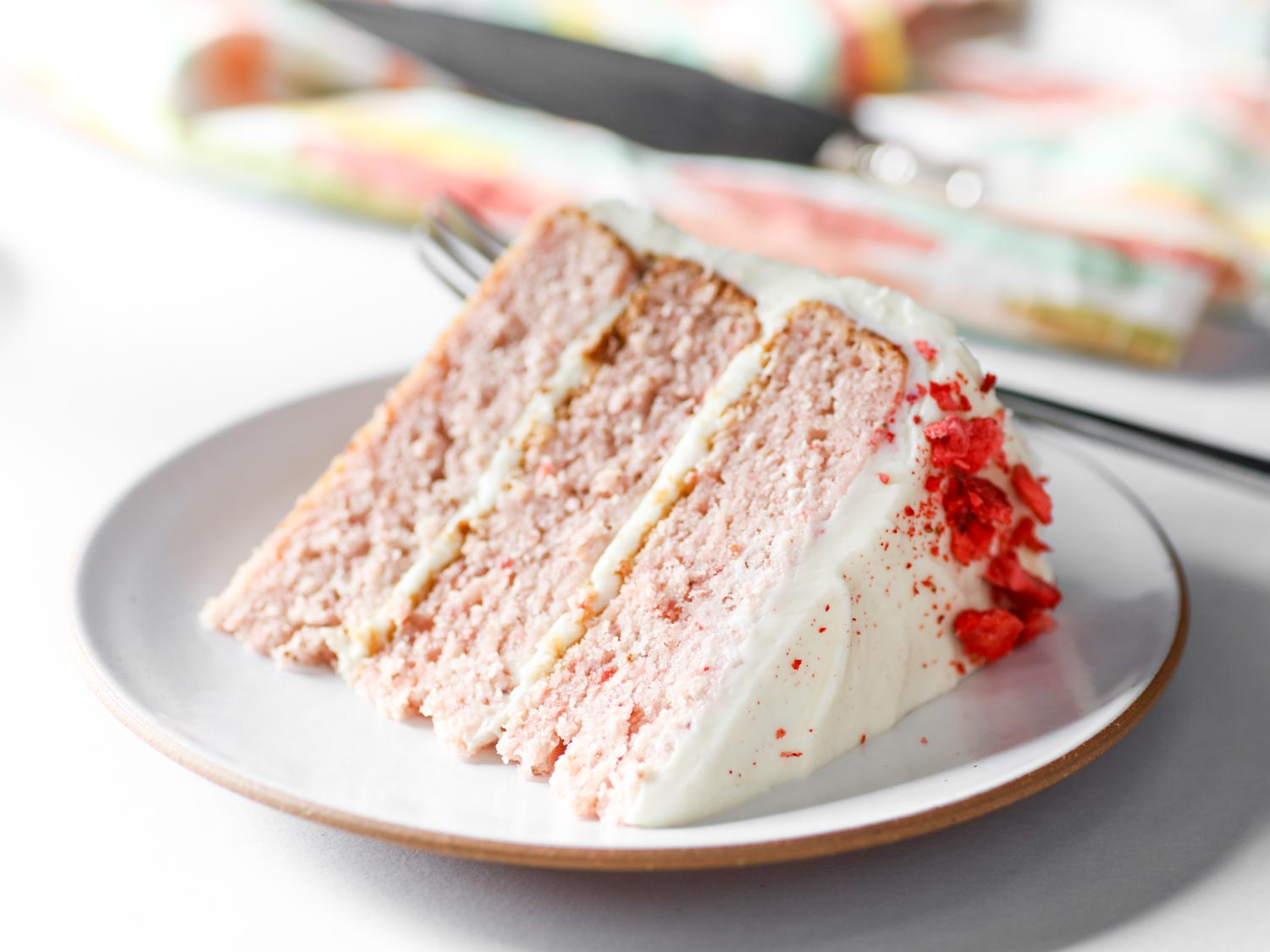 Double Strawberry Cake