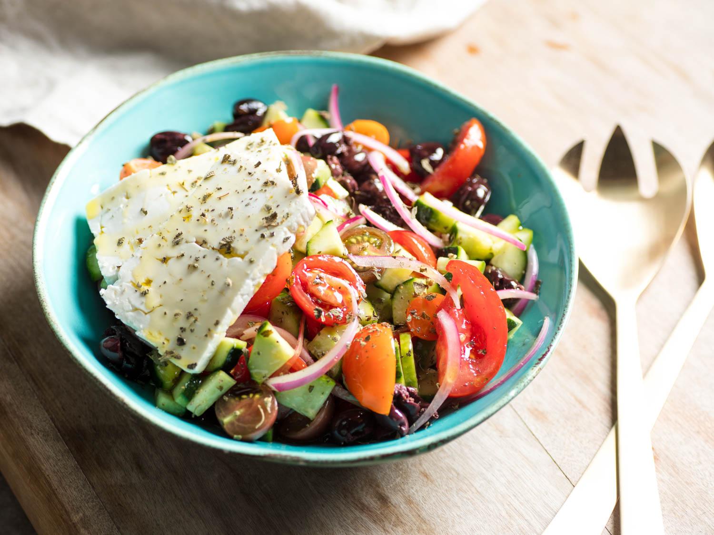 The Ultimate Greek Salad