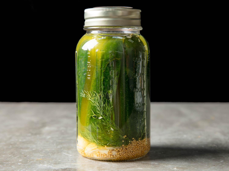 Milwaukee Dill Refrigerator Pickles