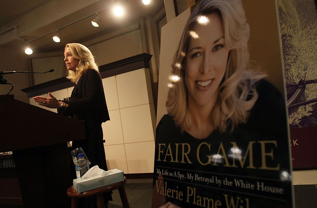 Former CIA operative Valerie Plame says privacy is precious — and she should know