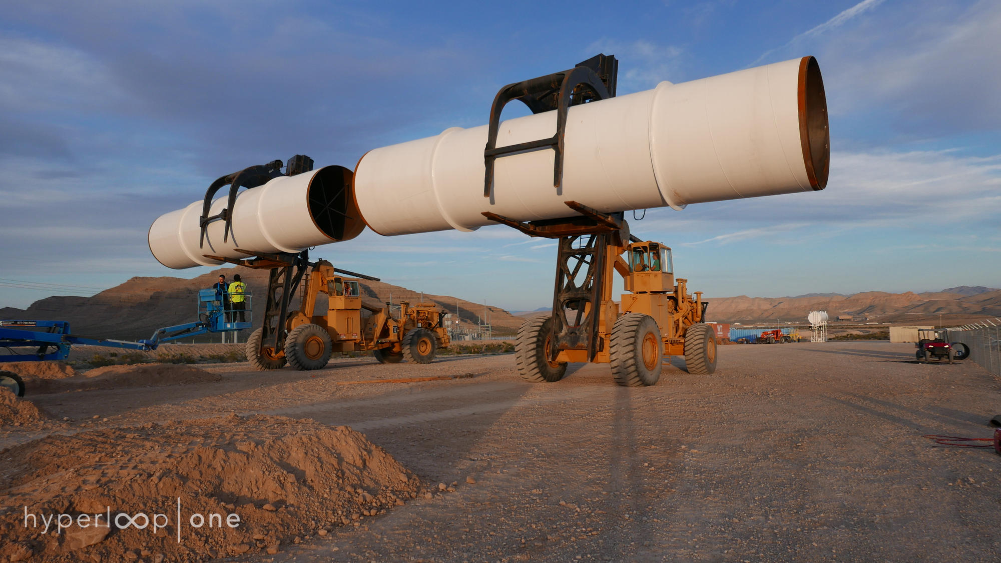 Hyperloop One's next step is to test airlocks for pod entry and exit