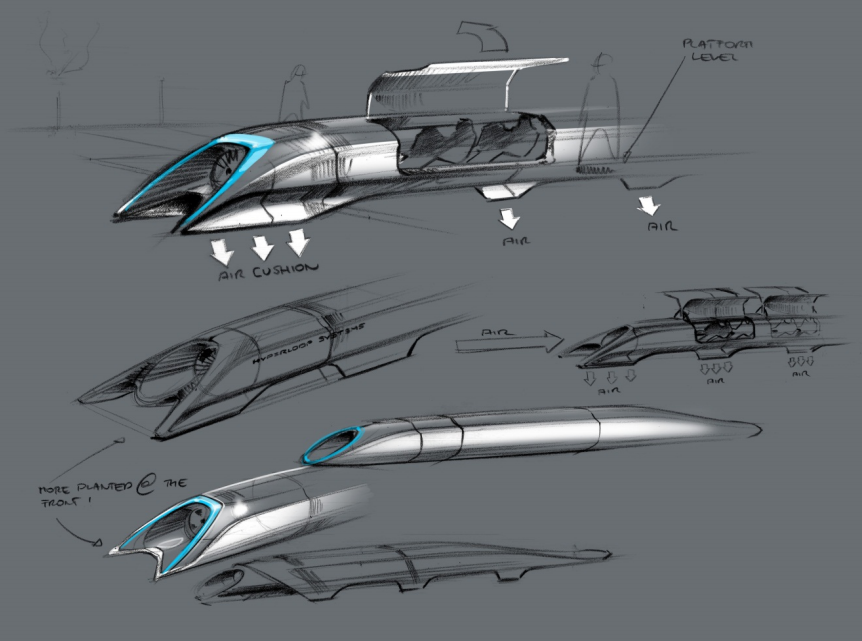 Elon Musk reportedly planning to build his own Hyperloop for tunnel system