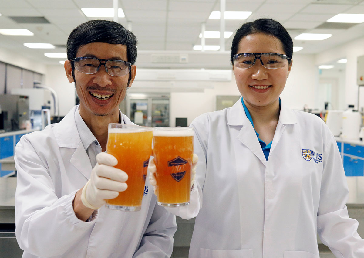 Burp! Singapore scientists hope for  probiotic  beer hit
