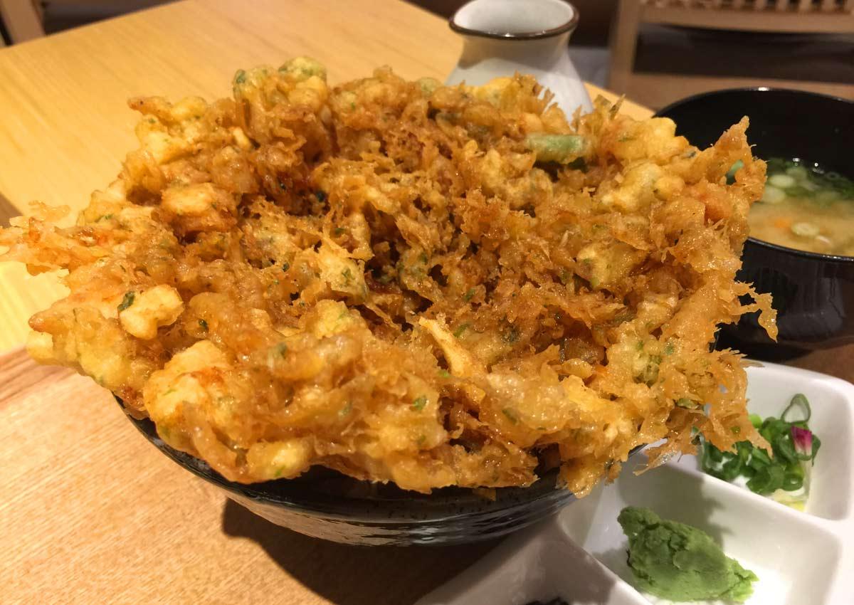 Best thing I ate this week: Tempura rice bowl