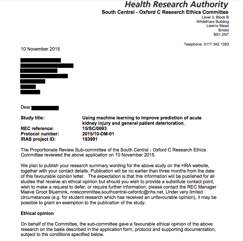Documents detail DeepMind's plan to apply AI to NHS data in 2015