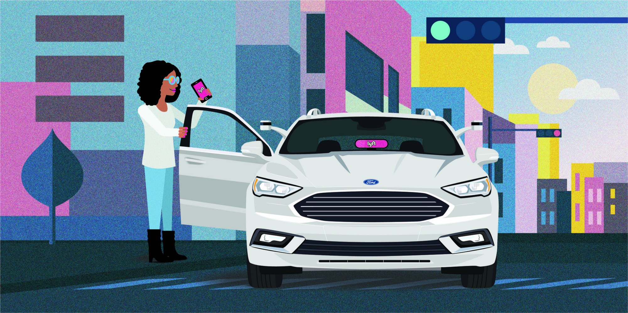 Ford and Lyft's new self-driving partnership likely to be a standard model