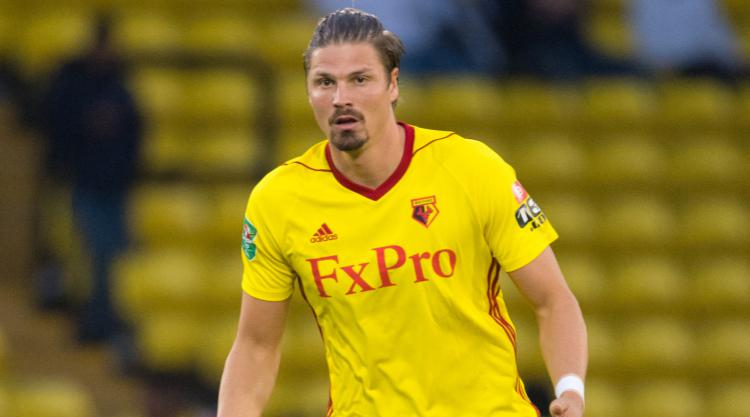 Defender Sebastian Prodl signs new Watford contract