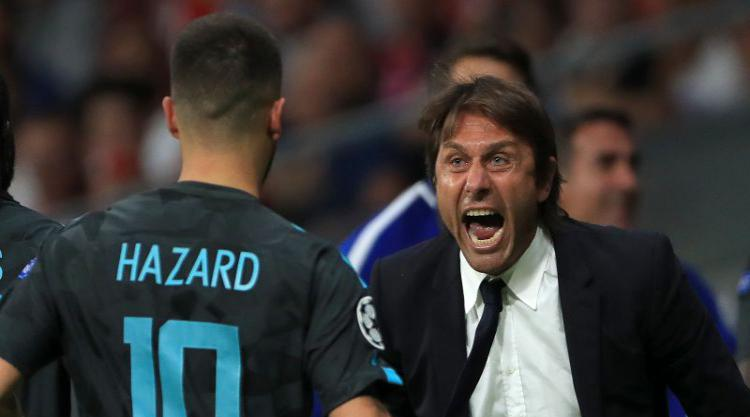 Chelsea boss Antonio Conte wants a repeat performance from Eden Hazard