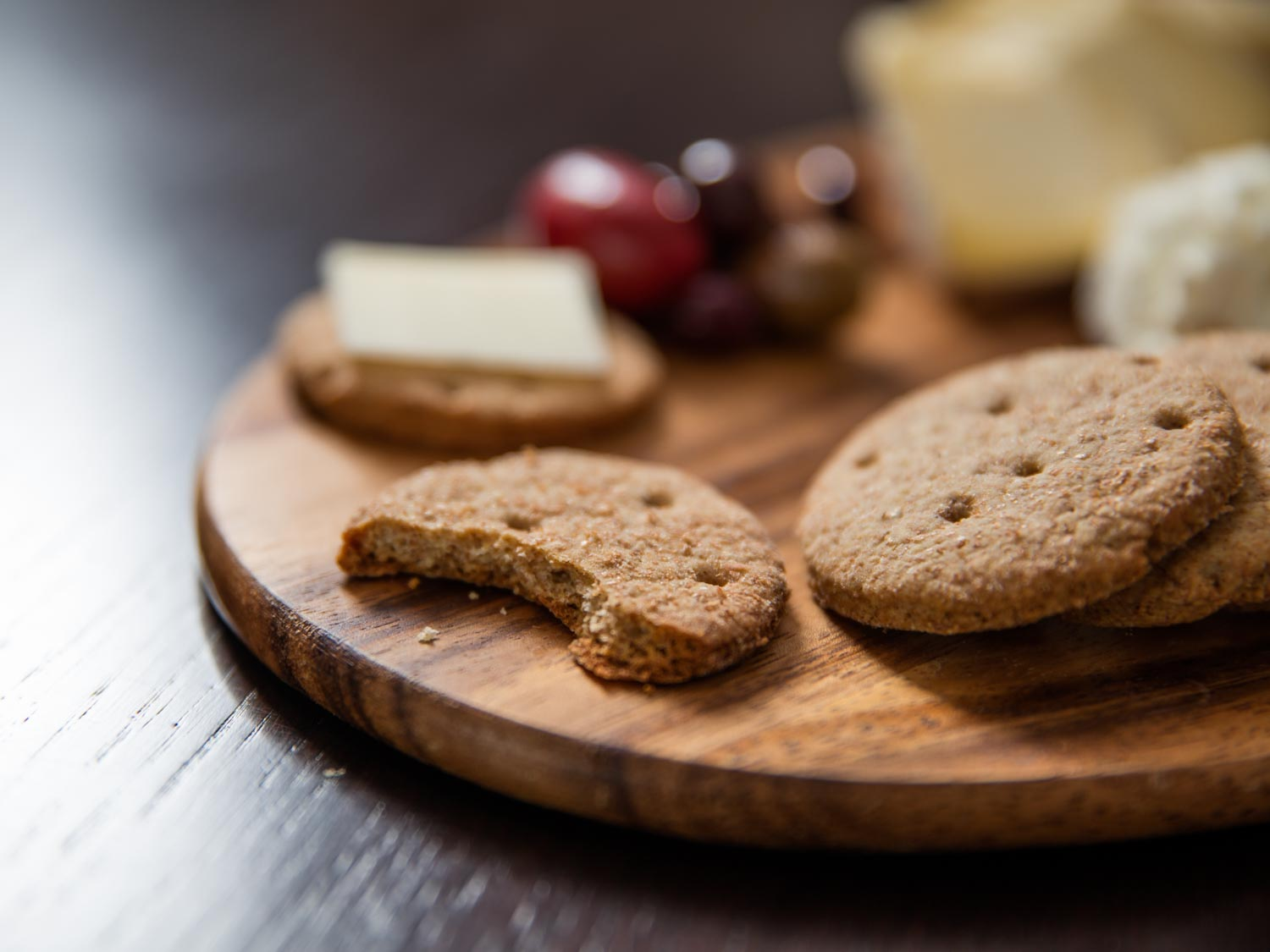 Homemade Carr's-Style Whole Wheat Crackers