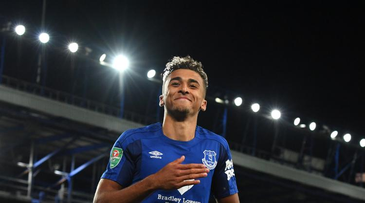 Dominic Calvert-Lewin is making great strides, says Everton boss Ronald Koeman