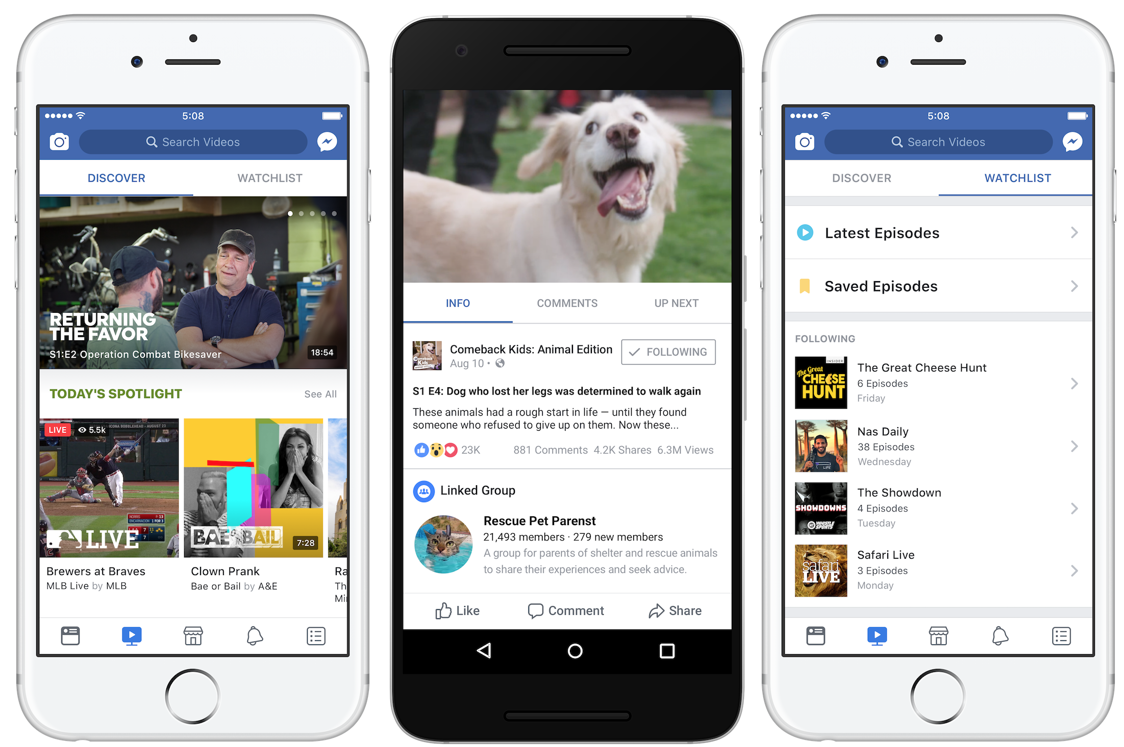 Facebook plans to spend up to $1B on original shows in 2018