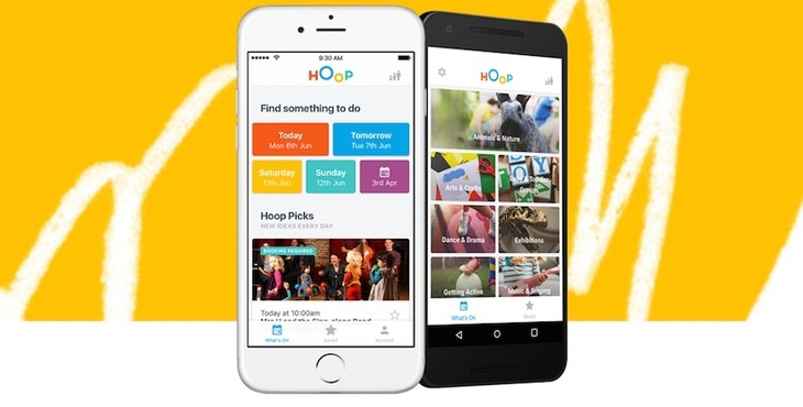 Hoop app for millennial parents secures £2.4M in a round led by BGF Ventures