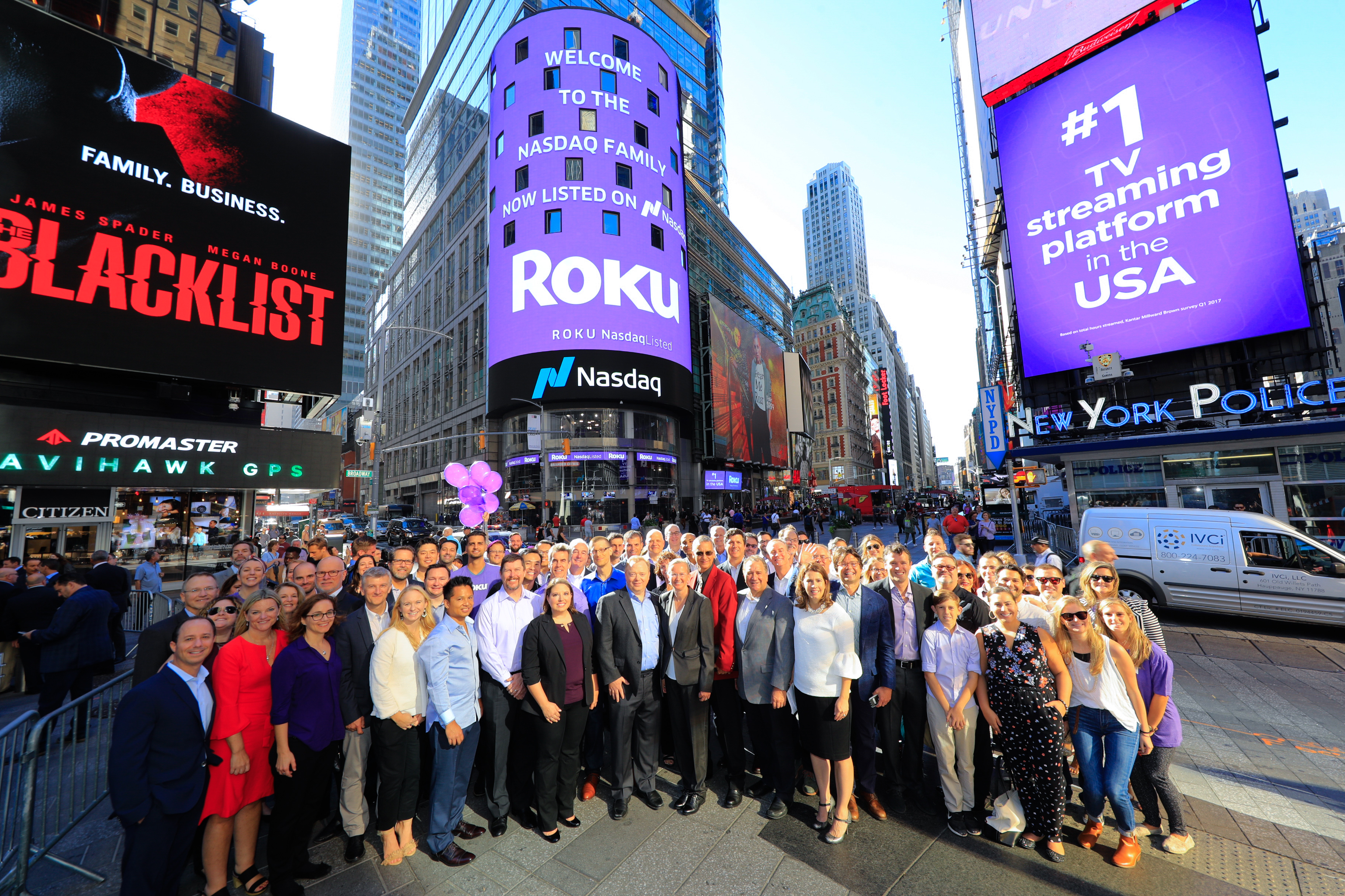 Roku nearly doubles since IPO, up another 13% on day two