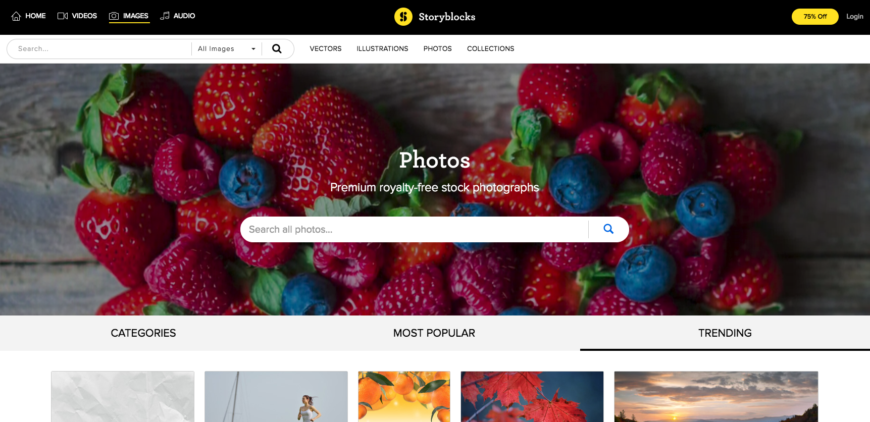 Videoblocks launches its stock photo service and changes its name to Storyblocks
