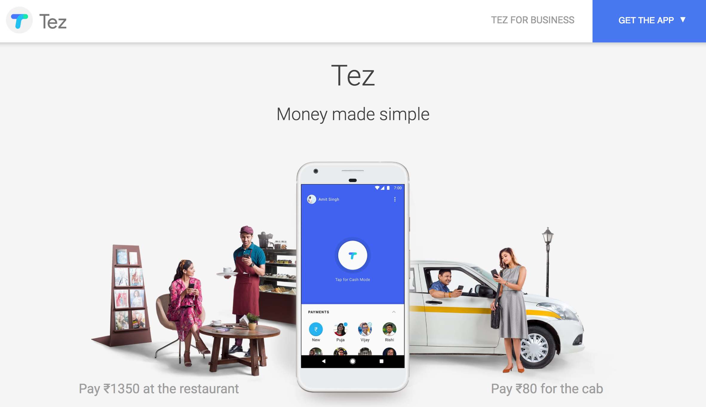 Google debuts Tez, a mobile wallet and payments app for India