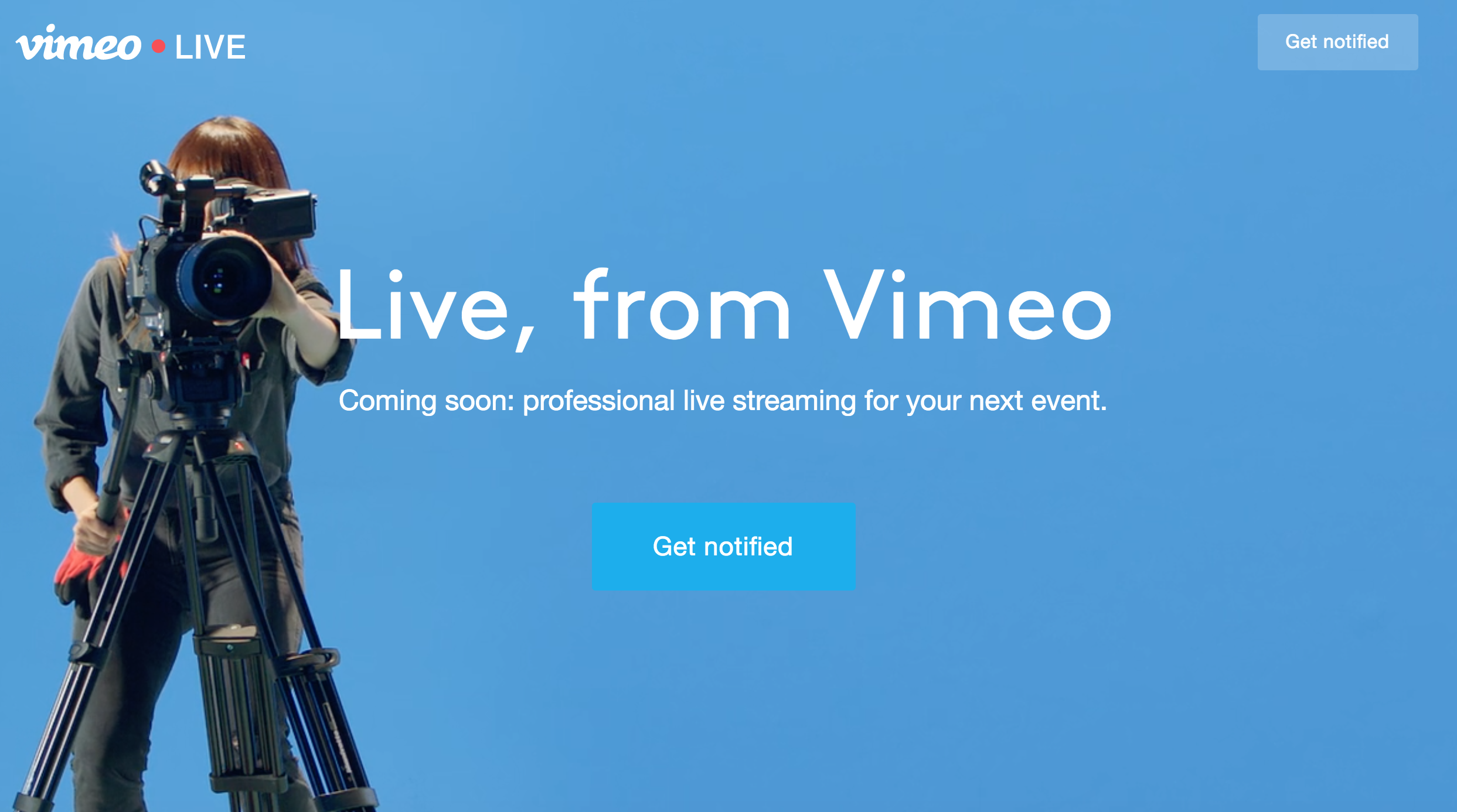 Vimeo acquires Livestream, launches its own live video product