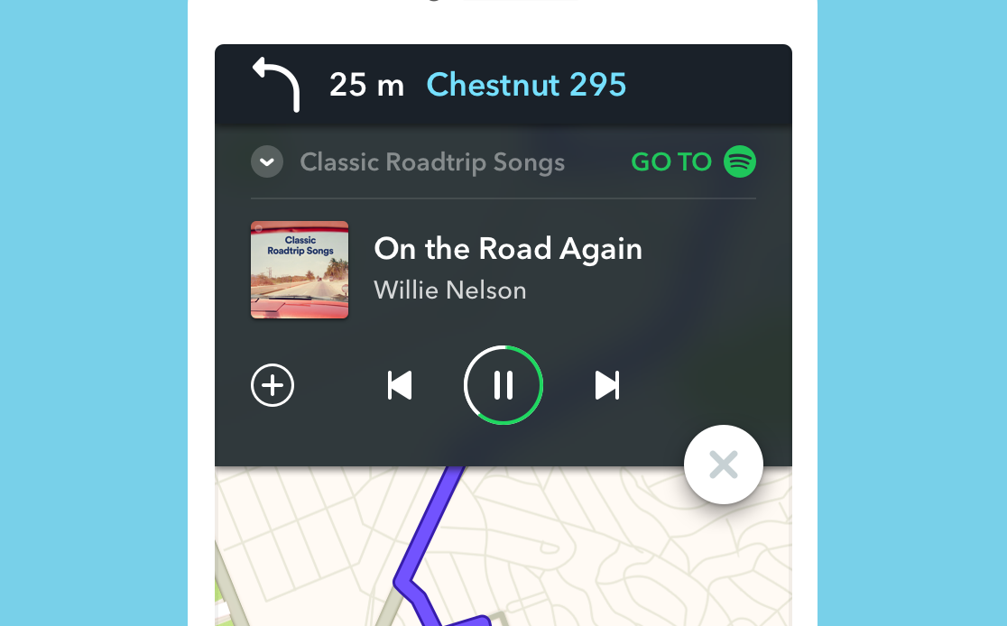 Waze and Spotify integration arrives on iOS