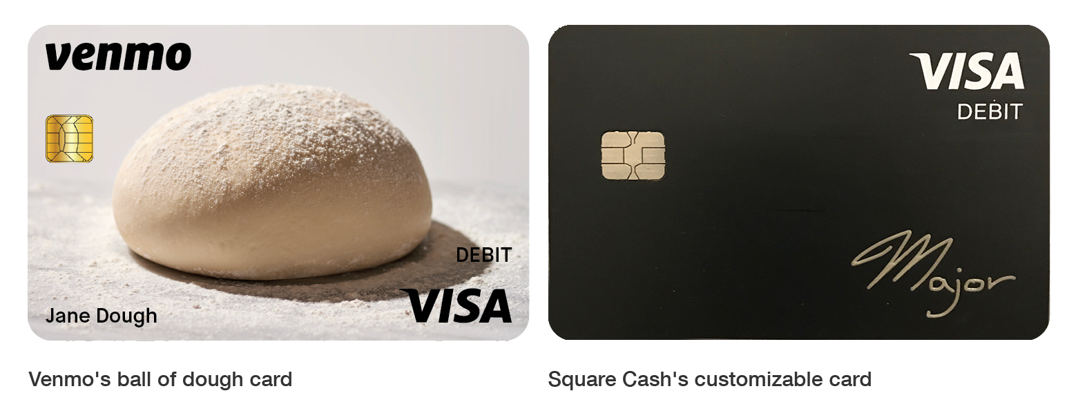 Venmo is offering users an (ugly) physical debit card