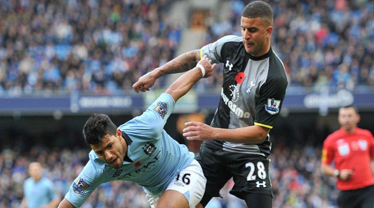 Kyle Walker happy to have Sergio Aguero on his side after years of torment