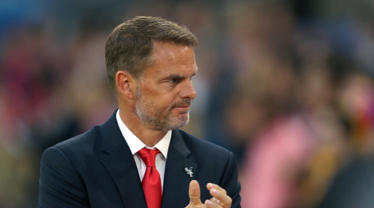 Under-pressure De Boer positive about Palace future