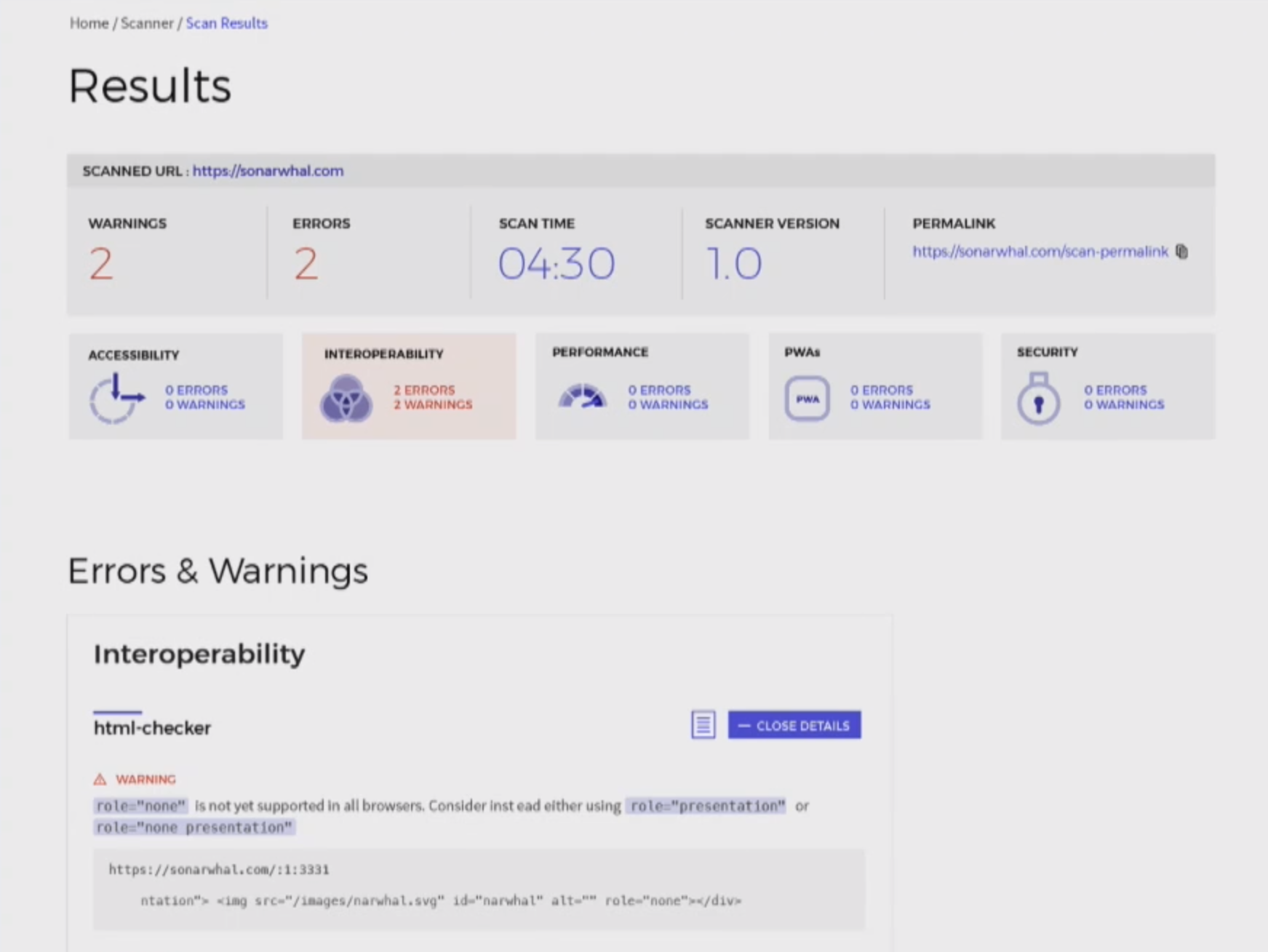 Microsoft's Sonar lets you check your website for performance and security issues