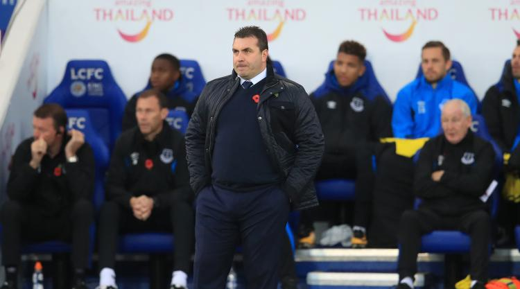 Everton caretaker boss Unsworth dismisses Barton's comments over his weight