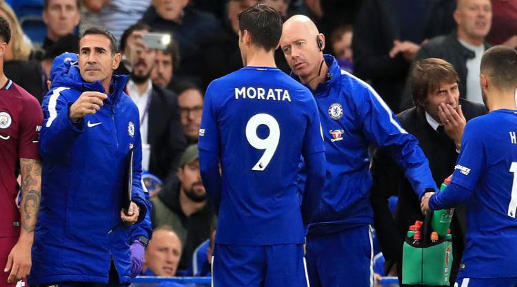 Chelsea hope second assessment of Morata's hamstring injury brings better news