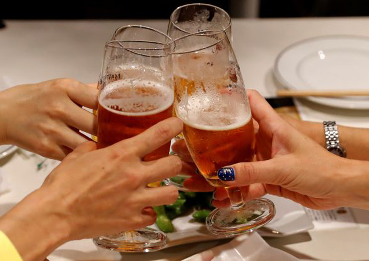 Don't play cute; Japan's brewers learn how to make women drink more
