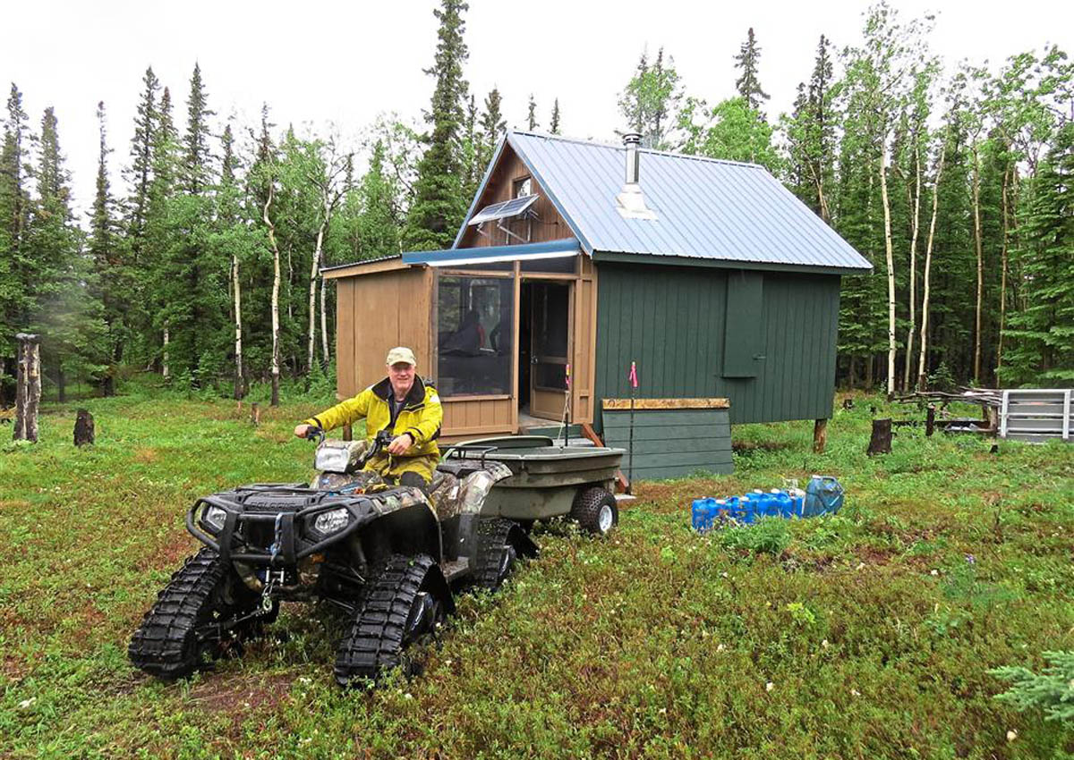 Meet the landlord who built 18 cabins by himself from the ground up