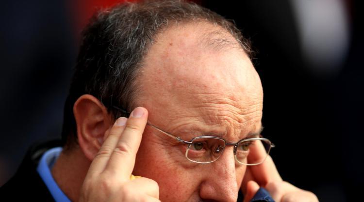 Newcastle boss Rafael Benitez plays down Everton link