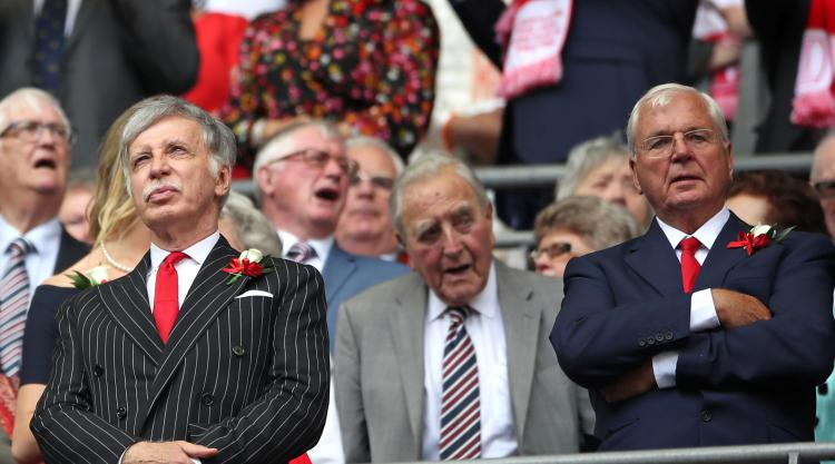 Arsenal Supporters' Trust opposes re-election of chairman Keswick and Kroenke Jr
