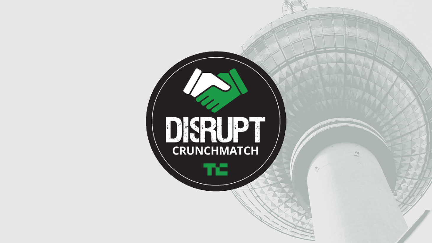 Let CrunchMatch curate your Disrupt Berlin experience
