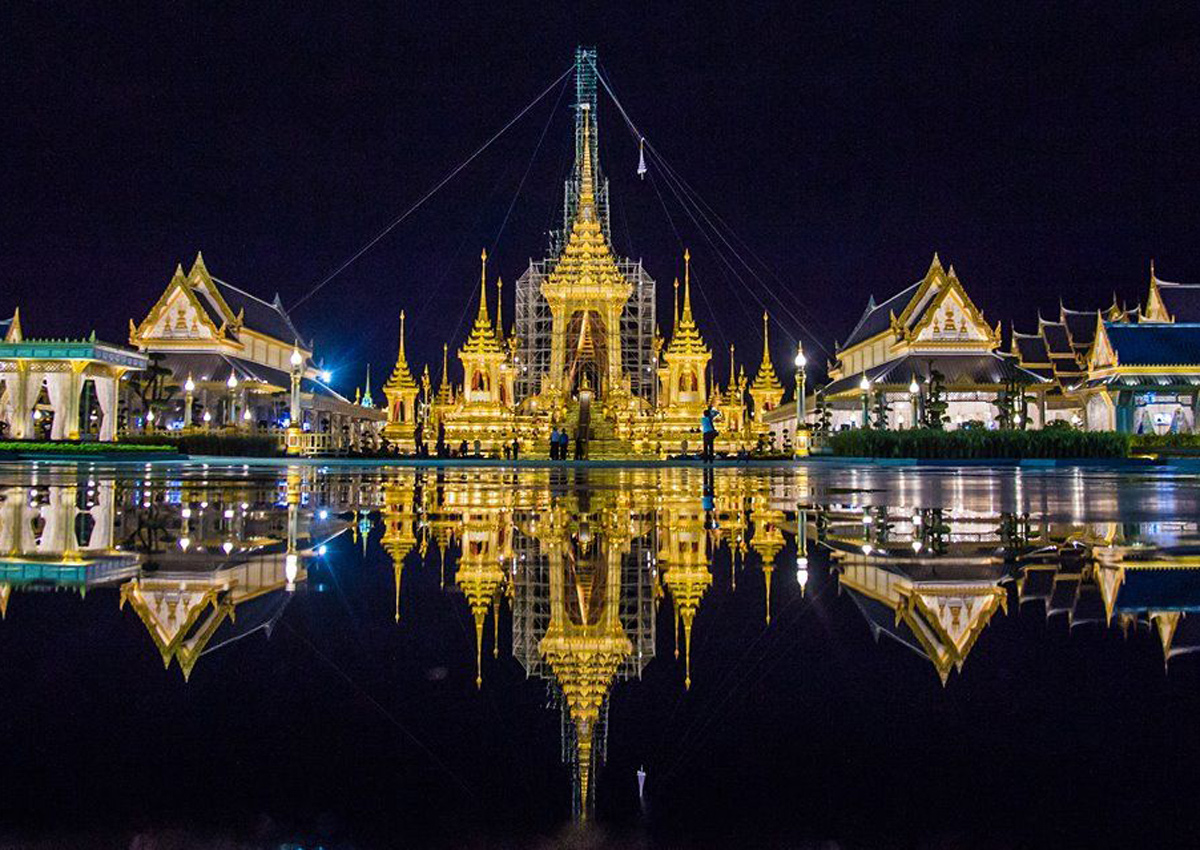 Are you in Bangkok during the late king's Royal Cremation? Here's what you need to know