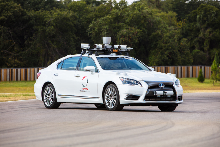 Toyota will test autonomous cars at California's GoMentum station