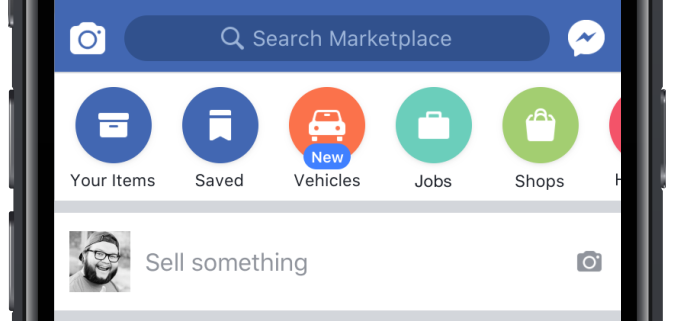 Facebook launches Marketplace for cars with dealers and Blue Book pricing