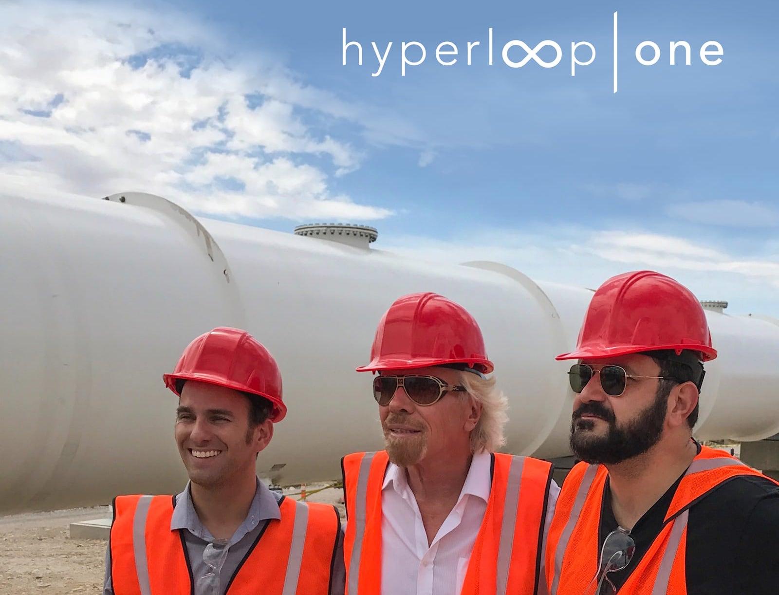 Hyperloop One becomes 'Virgin Hyperloop One' with Virgin Group investment