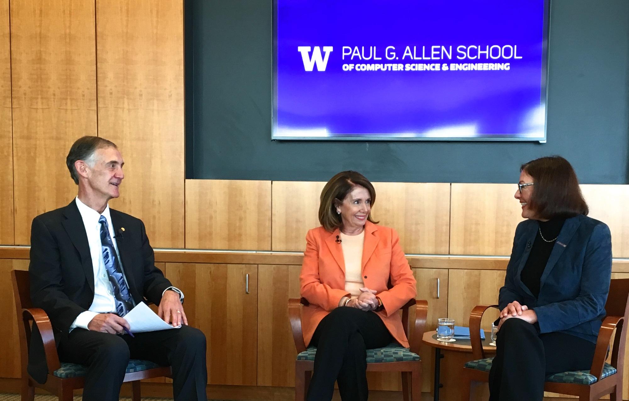 Representatives Pelosi and DelBene: 'No tolerance' for culture of harassment
