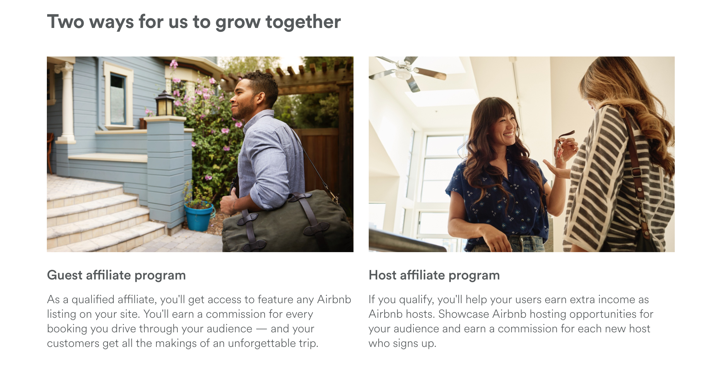 Airbnb eyes expansion with affiliate program for sites with 1M+ users, new API
