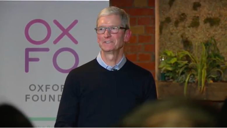 Don't trust investors asking how you'll exit to Apple, says Apple CEO