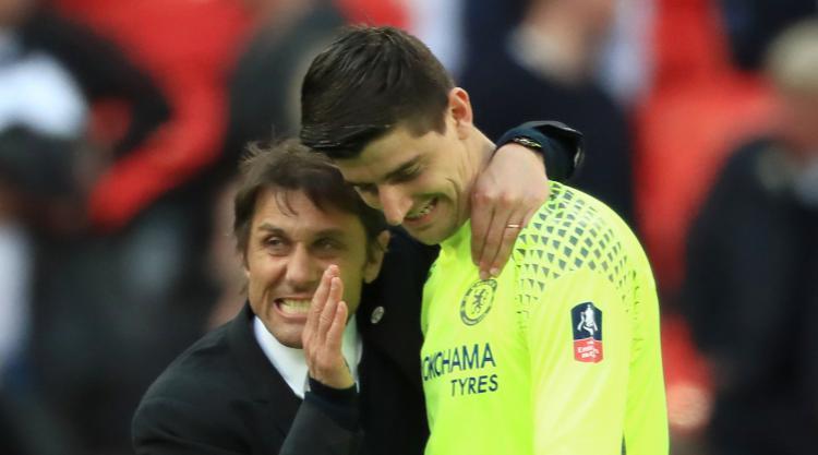 Thibaut Courtois has full faith in Chelsea boss Antonio Conte