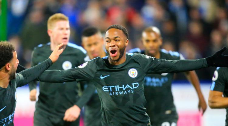 Raheem Sterling happy to help keep Manchester City run going