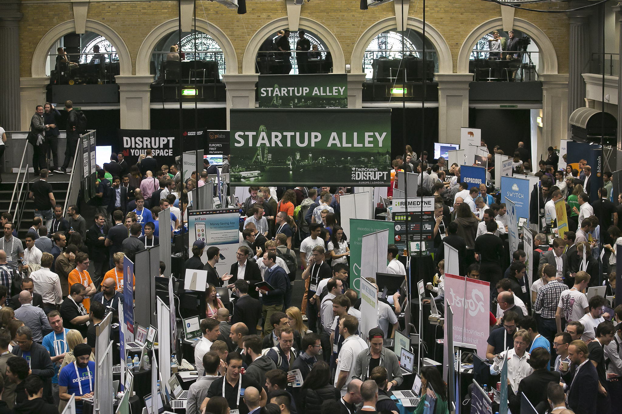 Get three tickets with your Startup Alley Exhibitor package at Disrupt Berlin