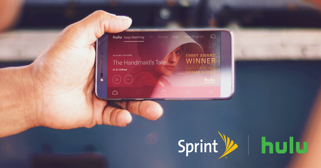 Sprint adds free Hulu service to its Unlimited Freedom plan