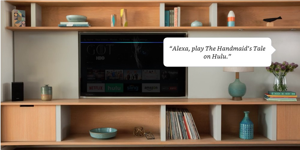 Fire TV owners can now control Hulu, NBC, CBS and other video apps via their voice