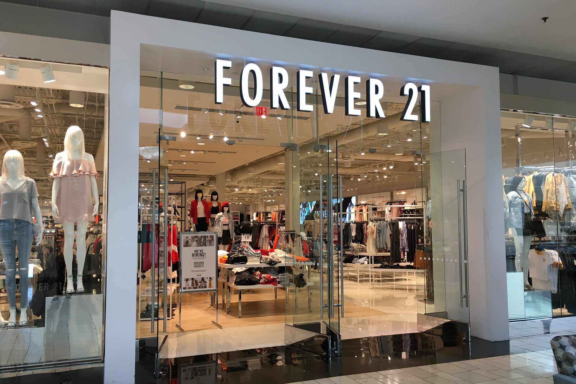 Forever 21 tells customers that some credit card numbers may have been stolen