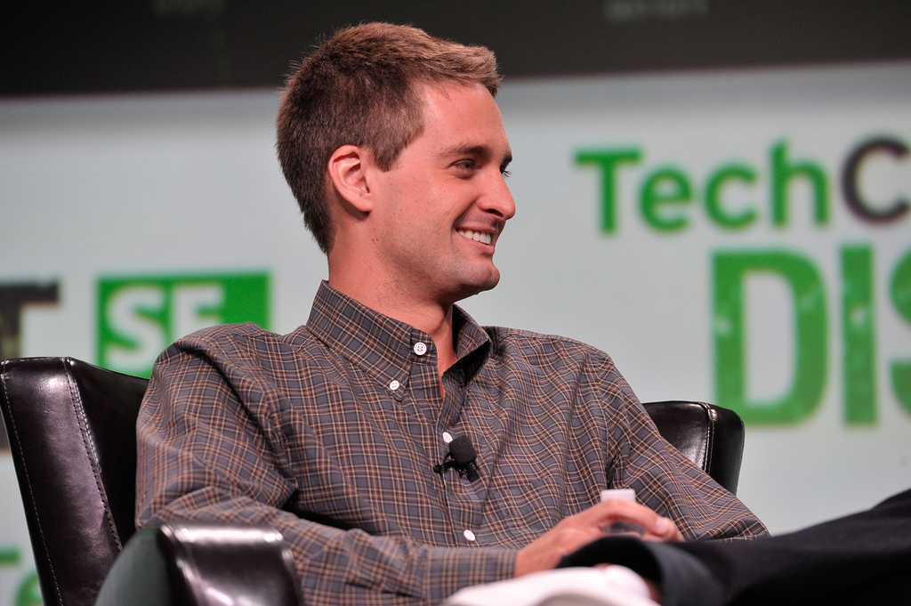 Snap's Evan Spiegel is clinging to billionaire status by his fingernails
